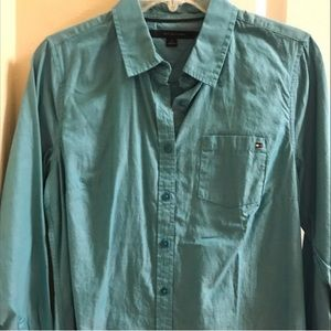 Tommy Hilfiger Ladies Long Sleeve Blouse Size Med.